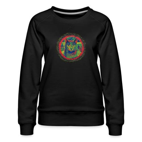 CAT ART AMERA - Frauen Premium Pullover