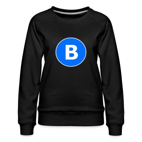 BluePrison - Dame premium sweatshirt