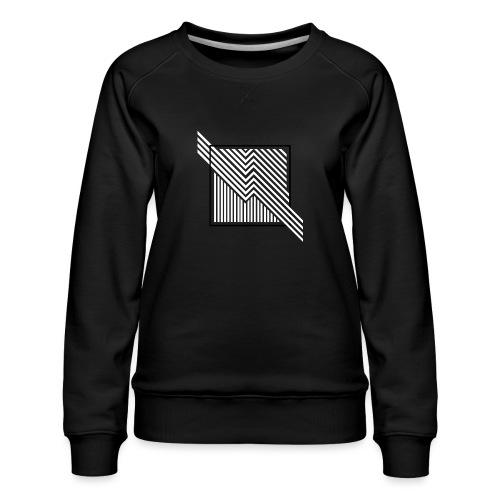 Lines in the dark - Women's Premium Sweatshirt