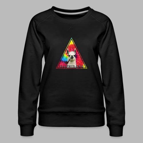 Illumilama logo T-shirt - Women's Premium Sweatshirt
