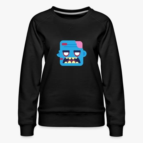 Mini Monsters - Zombob - Dame premium sweatshirt