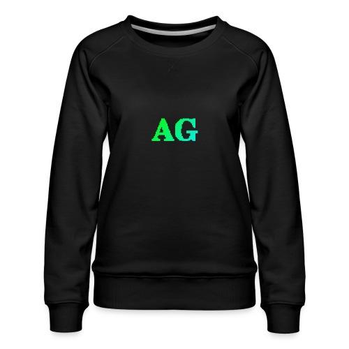 ATG Games logo - Naisten premium-collegepaita
