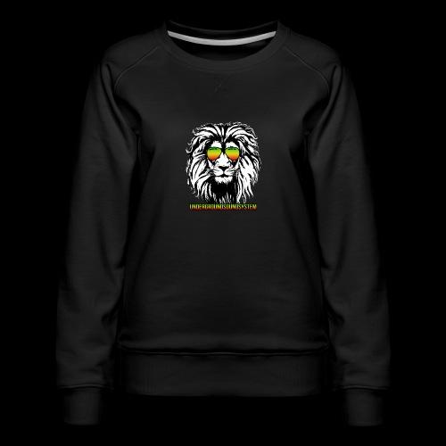 RASTA REGGAE LION - Frauen Premium Pullover
