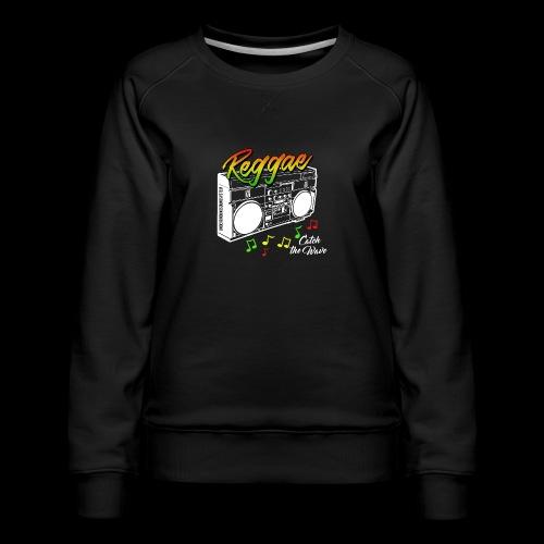 Reggae - Catch the Wave - Frauen Premium Pullover