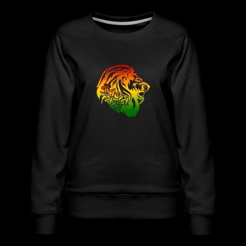 RASTA FARI LION - Frauen Premium Pullover
