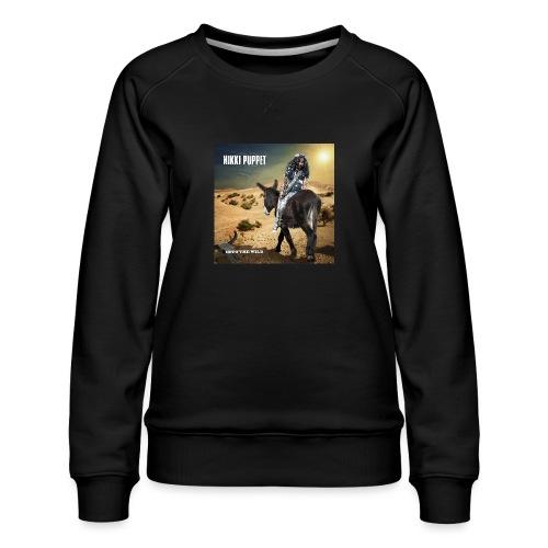NIKKI PUPPET INTO THE WILD - Frauen Premium Pullover