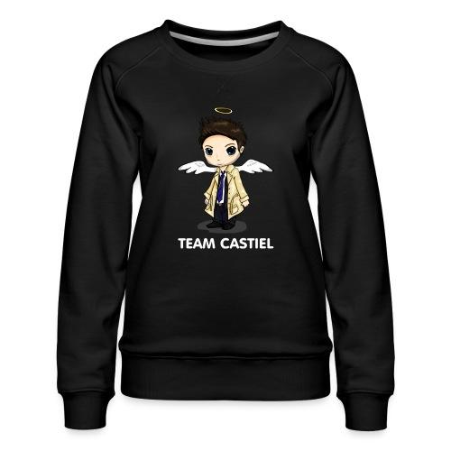 Team Castiel (dark) - Women's Premium Sweatshirt