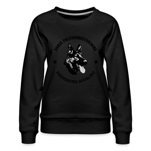 Svendborg ph sort - Dame premium sweatshirt