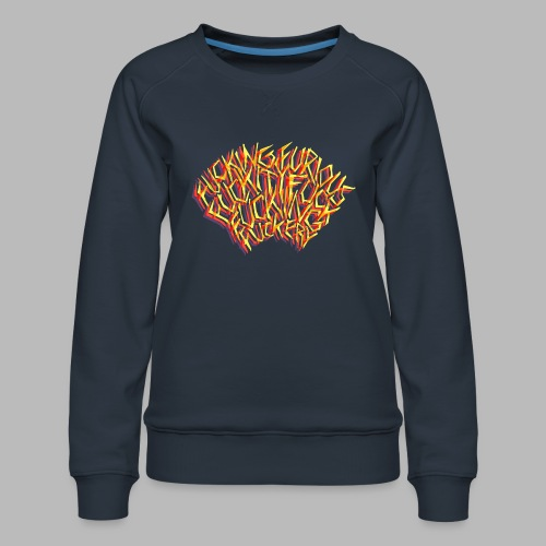 FUCKING FURIOUS! - Women's Premium Sweatshirt