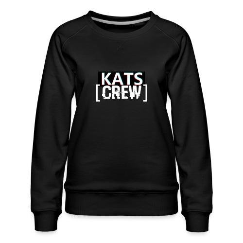KATS CREW Logo - Bluza damska Premium
