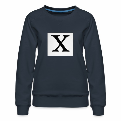 THE X - Women's Premium Sweatshirt