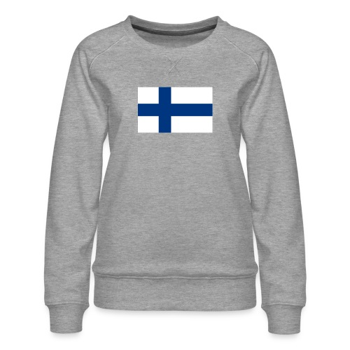 800pxflag of finlandsvg - Naisten premium-collegepaita