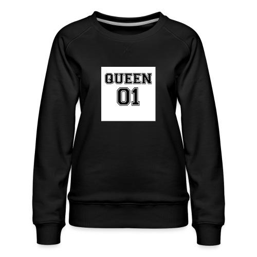 Queen 01 - Sweat ras-du-cou Premium Femme
