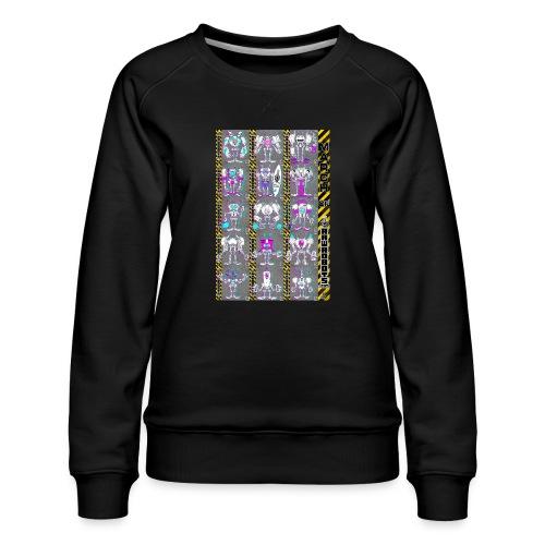 #MarchOfRobots ! NR 16-30 - Dame premium sweatshirt