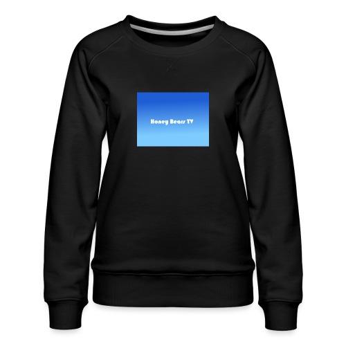 Honey Bears TV Merch - Women's Premium Sweatshirt