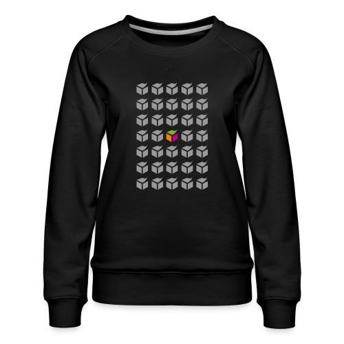 grid semantic web - Women's Premium Sweatshirt