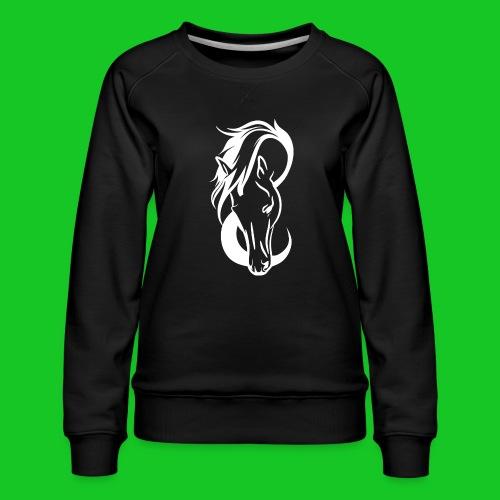 Paardenhoofd line - Vrouwen premium sweater