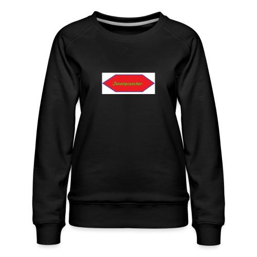 Kanalbild ohne hintergrund mit fühlung - Frauen Premium Pullover