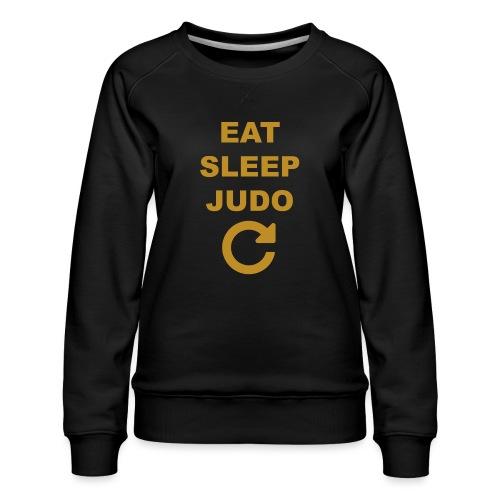 Eat sleep Judo repeat - Bluza damska Premium