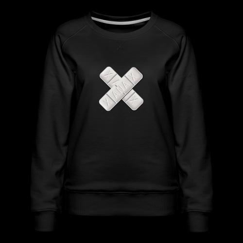 Xanax X Logo - Frauen Premium Pullover