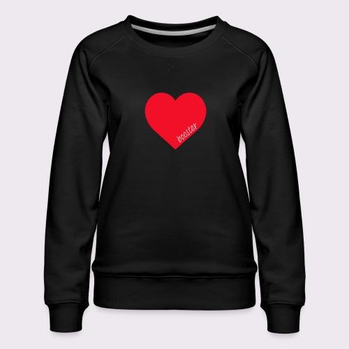 lovebooster - Women's Premium Sweatshirt