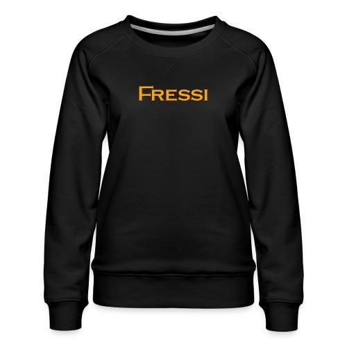 Fressi - Naisten premium-collegepaita