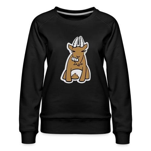 Scheissbock - Frauen Premium Pullover