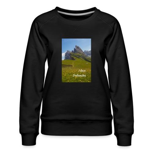 Seceda und Geisler Spitzen - Frauen Premium Pullover