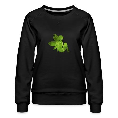 Green fairy - Premium-genser for kvinner