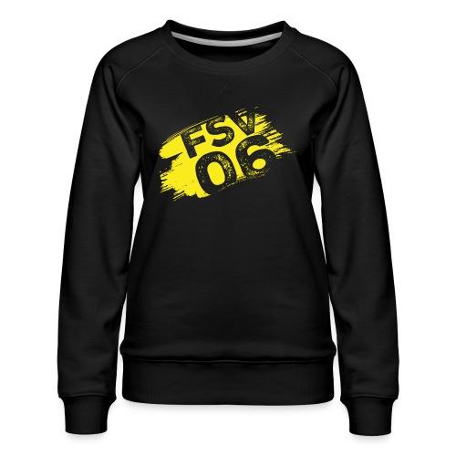 Hildburghausen FSV 06 Graffiti gelb - Frauen Premium Pullover