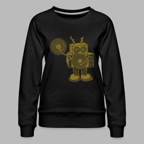 Hey Mr DJ - Women's Premium Sweatshirt