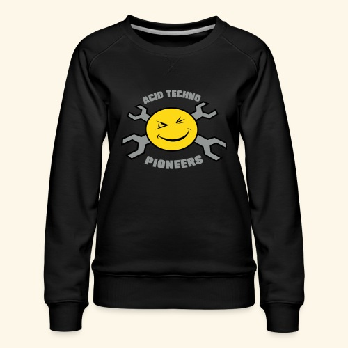 ACID TECHNO PIONEERS - SILVER EDITION - Women's Premium Sweatshirt