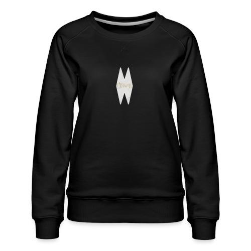 MELWILL white - Women's Premium Sweatshirt