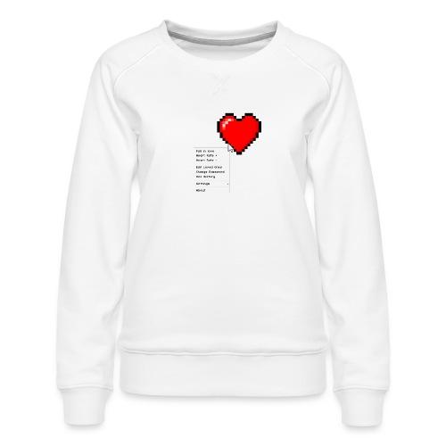 Options of the heart - Dame premium sweatshirt