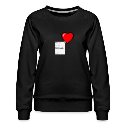 Options of the heart - Dame premium sweatshirt