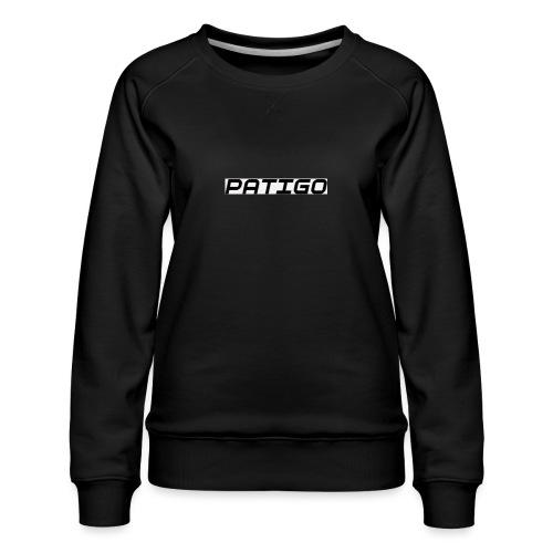 PATIGO - Dame premium sweatshirt