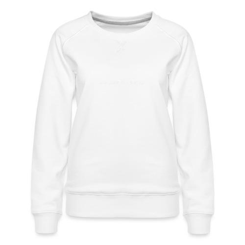 Die Lzz - Dame premium sweatshirt