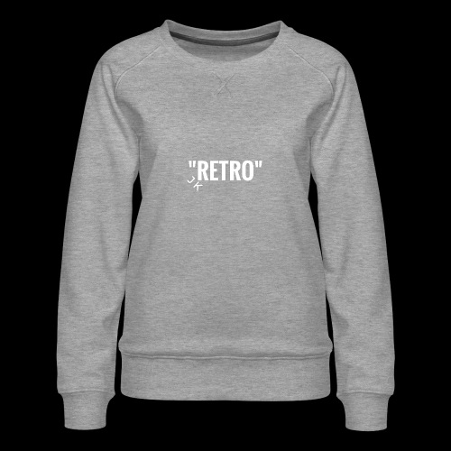 retro - Women's Premium Sweatshirt