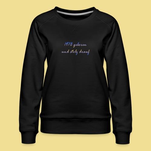 1978 - Frauen Premium Pullover