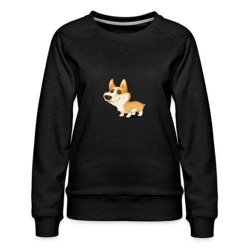 Corgi - Frauen Premium Pullover