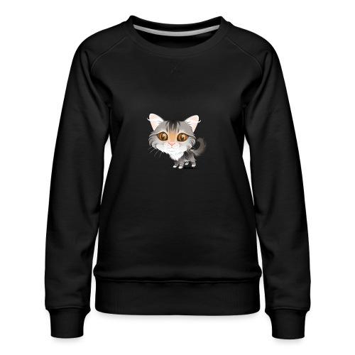 Katt - Premium-genser for kvinner