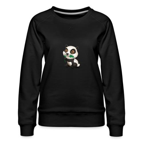 Panda - Frauen Premium Pullover