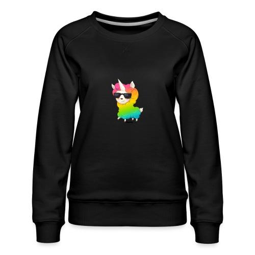 Rainbow animo - Premium-genser for kvinner