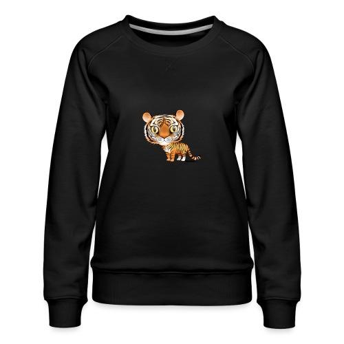 Tiger - Premium-genser for kvinner