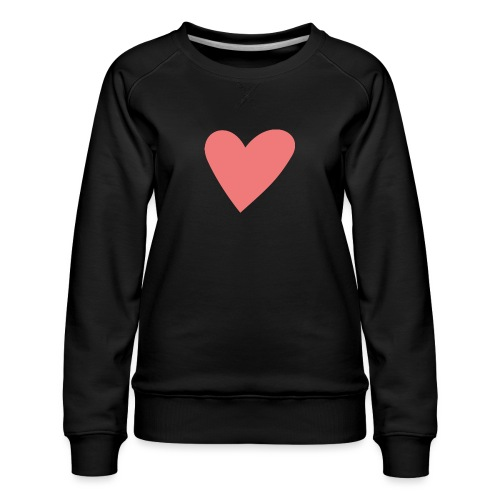 Popup Weddings Heart - Women's Premium Sweatshirt