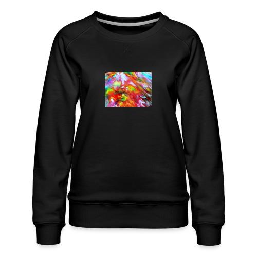 abstract 1 - Women's Premium Sweatshirt