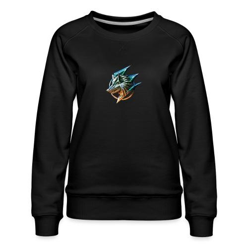 AZ GAMING WOLF - Women's Premium Sweatshirt