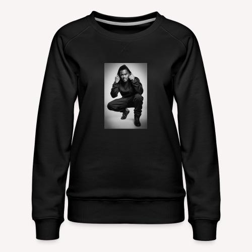 Black M - Sweat ras-du-cou Premium Femme