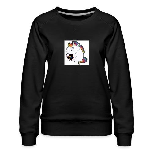MIK Einhorn - Frauen Premium Pullover