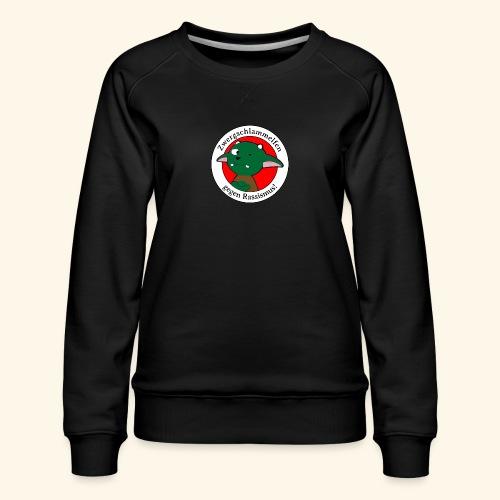 Zwergschlammelfen gegen Rassismus - Frauen Premium Pullover